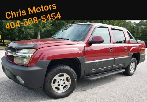 2005 Chevrolet Avalanche for sale at Chris Motors in Decatur GA