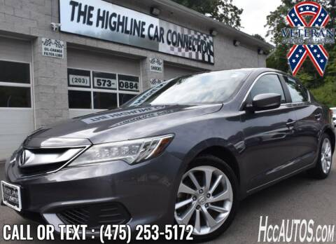 2018 Acura ILX for sale at The Highline Car Connection in Waterbury CT