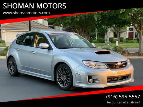 2014 Subaru Impreza for sale at SHOMAN AUTO GROUP in Davis CA