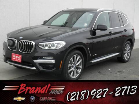 2018 BMW X3 for sale at Brandl GM in Aitkin MN