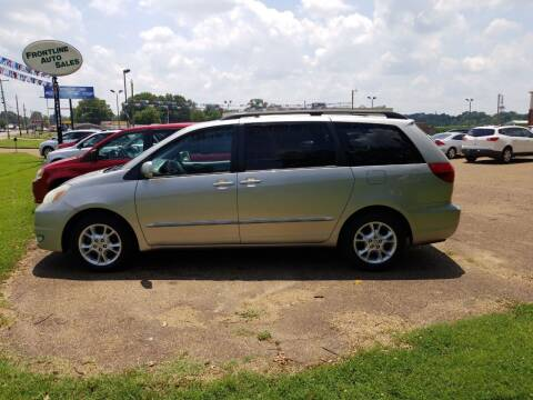 2004 Toyota Sienna for sale at Frontline Auto Sales in Martin TN