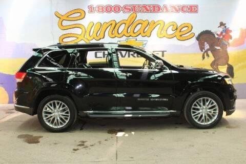 2018 Jeep Grand Cherokee for sale at Sundance Chevrolet in Grand Ledge MI