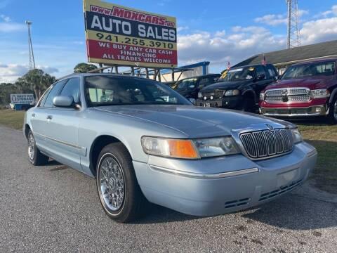2000 Mercury Grand Marquis for sale at Mox Motors in Port Charlotte FL