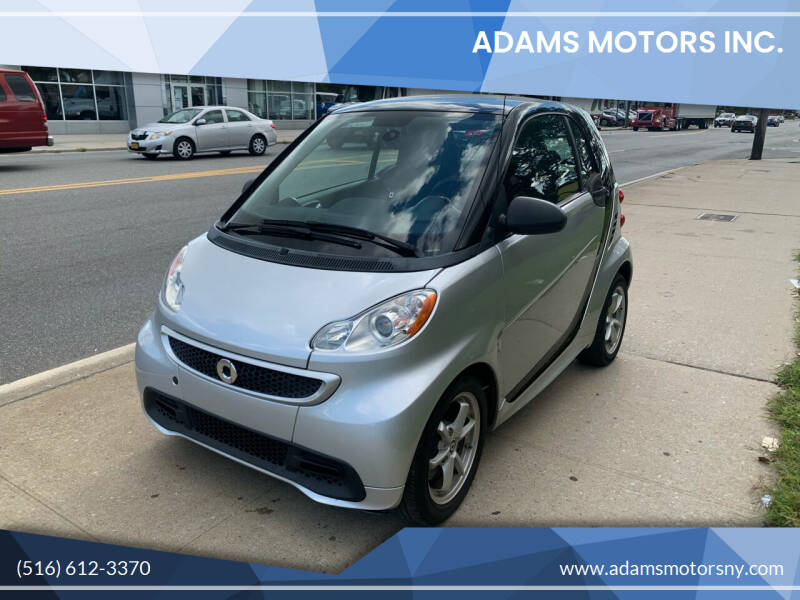 2015 Smart fortwo for sale at Adams Motors INC. in Inwood NY