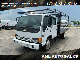 2005 Chevrolet W5500 for sale at AML AUTO SALES - Flat Beds in Opa-Locka FL