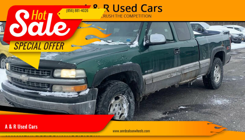 2000 Chevrolet Silverado 1500 for sale at A & R Used Cars in Clayton NJ