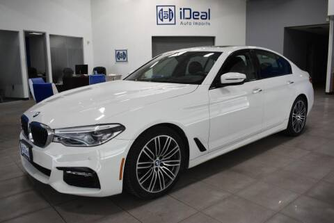 2017 BMW 5 Series for sale at iDeal Auto Imports in Eden Prairie MN