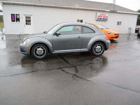 2012 Volkswagen Beetle for sale at Plainfield Auto Sales, LLC in Plainfield WI