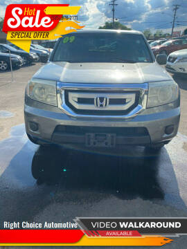 2009 Honda Pilot for sale at Right Choice Automotive in Rochester NY