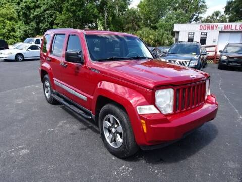 2008 Jeep Liberty for sale at DONNY MILLS AUTO SALES in Largo FL
