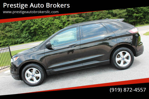 2015 Ford Edge for sale at Prestige Auto Brokers in Raleigh NC