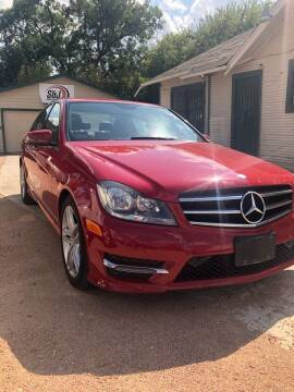 2014 Mercedes-Benz C-Class for sale at S & J Auto Group in San Antonio TX