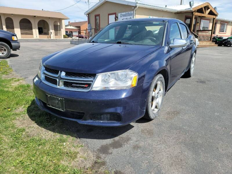 2014 Dodge Avenger for sale at Creekside Auto Sales in Pocatello ID
