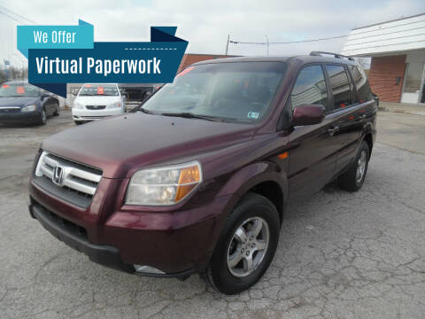 2007 Honda Pilot for sale at VEST AUTO SALES in Kansas City MO