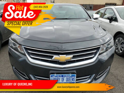2019 Chevrolet Impala for sale at LUXURY OF QUEENS,INC in Long Island City NY