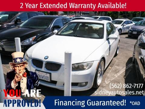 2008 BMW 3 Series for sale at Sidney Auto Sales in Downey CA