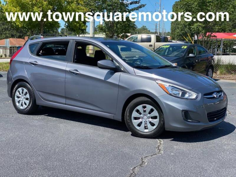 2016 Hyundai Accent for sale at Town Square Motors in Lawrenceville GA