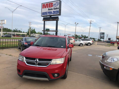 2015 Dodge Journey for sale at MB Auto Sales in Oklahoma City OK