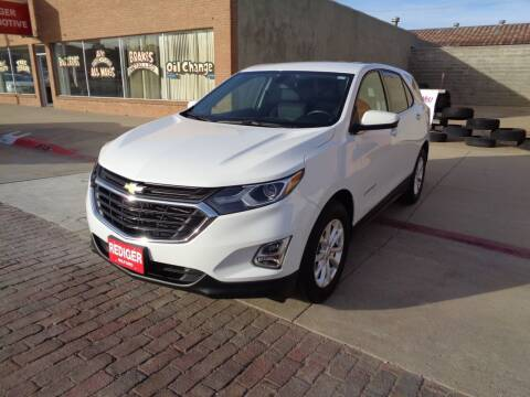 2019 Chevrolet Equinox for sale at Rediger Automotive in Milford NE