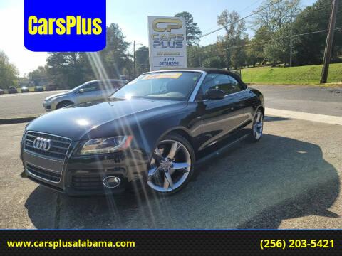 2010 Audi A5 for sale at CarsPlus in Scottsboro AL