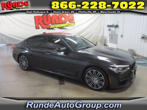 2017 BMW 5 Series for sale at Runde Chevrolet in East Dubuque IL