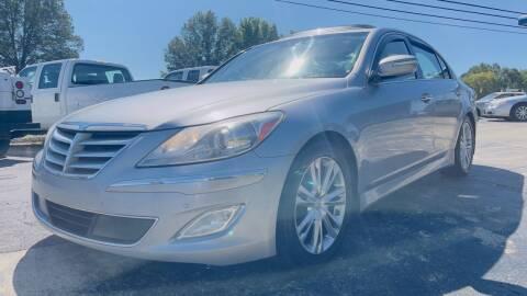 2013 Hyundai Genesis for sale at Capital Motors in Raleigh NC