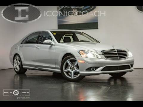 2007 Mercedes-Benz S-Class for sale at Iconic Coach in San Diego CA
