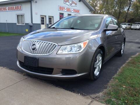 2011 Buick LaCrosse for sale at Steves Auto Sales in Cambridge MN