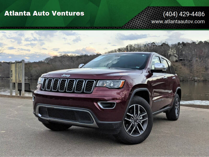2020 Jeep Grand Cherokee for sale at Atlanta Auto Ventures in Roswell GA