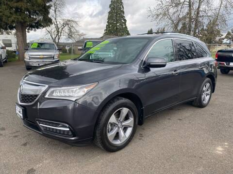 2014 Acura MDX for sale at Pacific Auto LLC in Woodburn OR