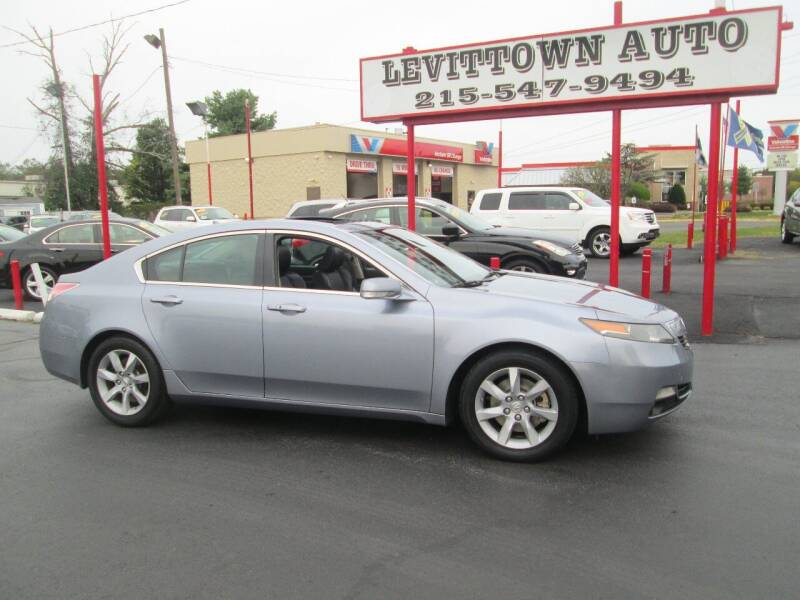 2012 Acura TL 4dr Sedan w/Technology Package - Levittown PA