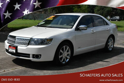 2009 Lincoln MKZ for sale at Schaefers Auto Sales in Victoria TX