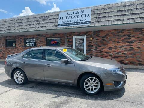 2010 Ford Fusion for sale at Allen Motor Company in Eldon MO