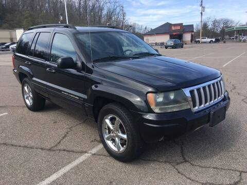 2004 Jeep Grand Cherokee for sale at Borderline Auto Sales in Loveland OH