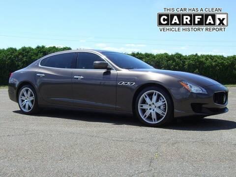 2014 Maserati Quattroporte for sale at Atlantic Car Company in East Windsor CT