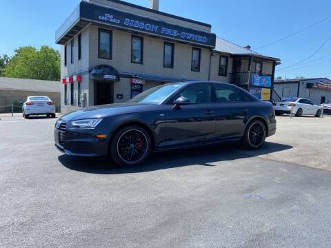 2018 Audi A4 for sale at Sisson Pre-Owned in Uniontown PA