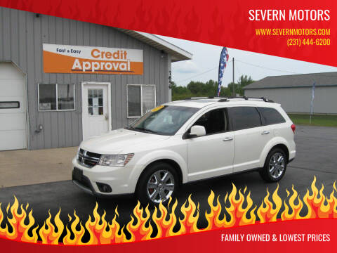 2013 Dodge Journey for sale at Severn Motors in Cadillac MI