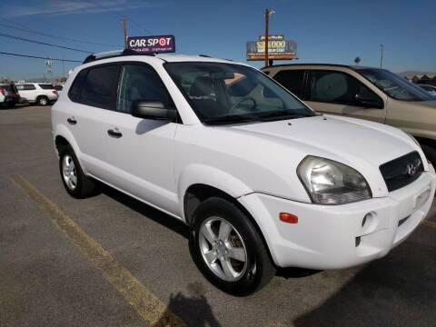 2008 Hyundai Tucson for sale at Car Spot in Las Vegas NV