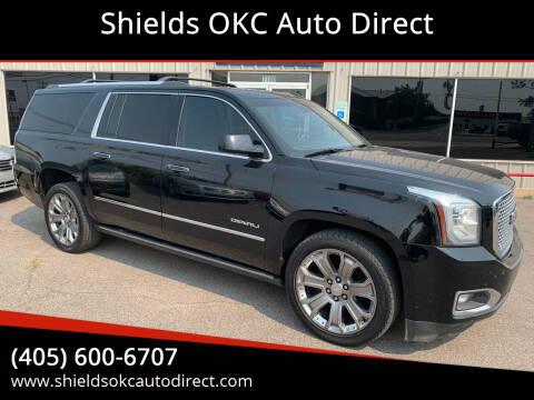 2015 GMC Yukon XL for sale at Shields OKC Auto Direct in Oklahoma City OK