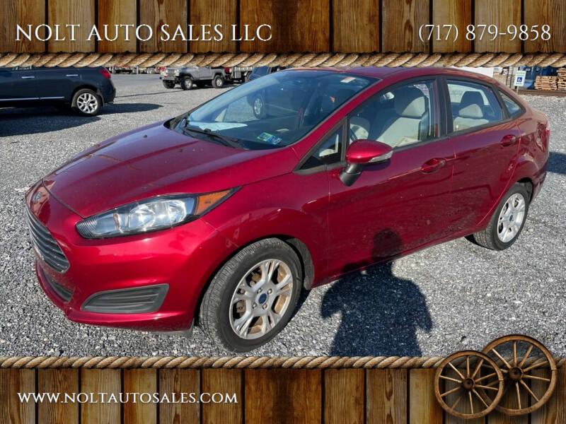2014 Ford Fiesta for sale at NOLT AUTO SALES LLC in Manheim PA