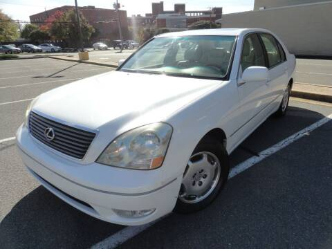 2002 Lexus LS 430 for sale at TJ Auto Sales LLC in Fredericksburg VA