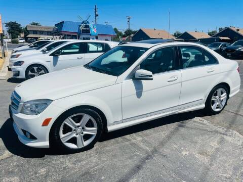 2010 Mercedes-Benz C-Class for sale at Sunset Motors in Manteca CA