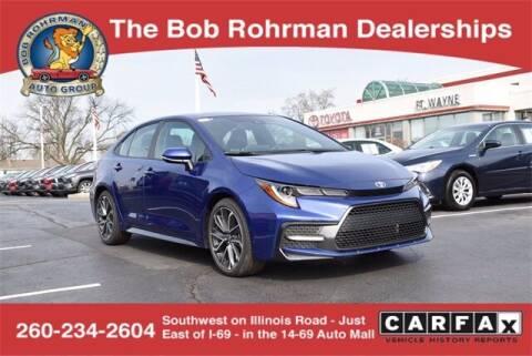 2020 Toyota Corolla for sale at BOB ROHRMAN FORT WAYNE TOYOTA in Fort Wayne IN