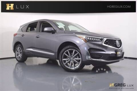 2020 Acura RDX for sale at HGREG LUX EXCLUSIVE MOTORCARS in Pompano Beach FL