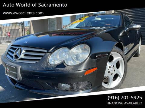 2005 Mercedes-Benz SL-Class for sale at Auto World of Sacramento Stockton Blvd in Sacramento CA