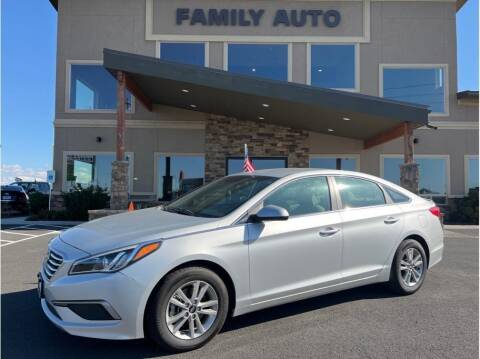 2016 Hyundai Sonata for sale at Moses Lake Family Auto Center in Moses Lake WA