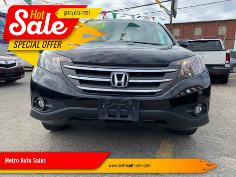 2014 Honda CR-V for sale at Metro Auto Sales in Lawrence MA