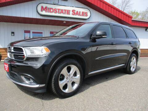 2015 Dodge Durango for sale at Midstate Sales in Foley MN