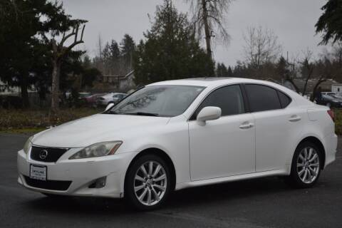 2006 Lexus IS 250 for sale at Skyline Motors Auto Sales in Tacoma WA