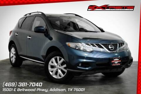 2012 Nissan Murano for sale at EXTREME SPORTCARS INC in Carrollton TX